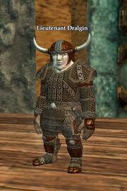 Lieutenant Dralgin