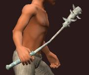 Wraith Bone Mace (Equipped)