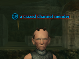 A crazed channel mender