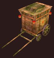 Aged-caravan-wagon