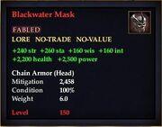 Blackwater Mask