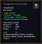 Chestguard of the Saracen