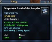 Deepwater Band of the Templar