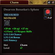 Dwarven Berserker's Sphere