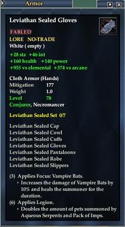 Leviathan Sealed Gloves