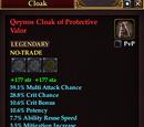 Qeynos Cloak of Protective Valor