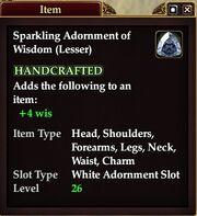Sparkling Adornment of Wisdom (Lesser)