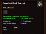 Succulent Husk Bracelet