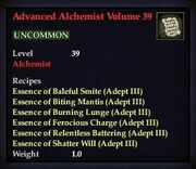 Advanced Alchemist Volume 39