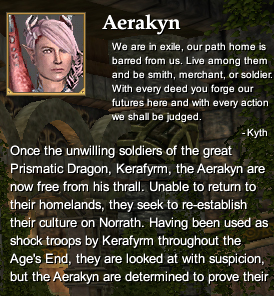 Aerakyn (Character Race)