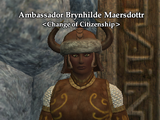Ambassador Brynhilde Maersdottr