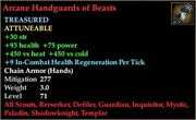 Arcane Handguards of Beasts