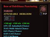 Bow of Debilitous Puncturing