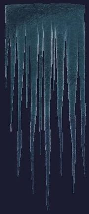 Dangerous icicles (Visible)