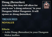 Droag (Berserker)