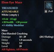 Ebon Eye Mace