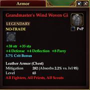 Grandmaster's Wind Woven Gi