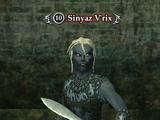 Sinyaz V'rix