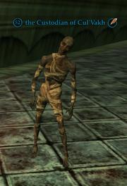 The custodian of cul'vakh