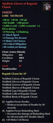 Voidlink Gloves of Roguish Charm