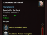 Armaments of Paineel