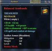 Balanced Armbands