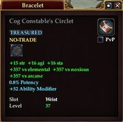 Cog Constable's Circlet