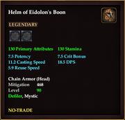 Helm of Eidolon's Boon