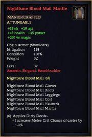 Nightbane Blood Mail Mantle