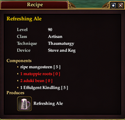 Refreshing Ale (Recipe)