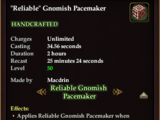"""""""Reliable"""" Gnomish Pacemaker"""