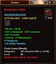 Restorative Mitts