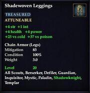 Shadewoven Leggings