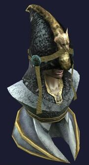 Trophy Head of Perah'Celsis (visible)