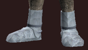 Acolyte's Wrought Plate Boots (Equipped)