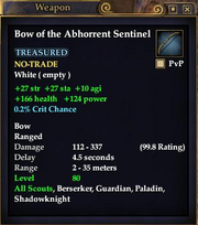 Bow of the Abhorrent Sentinel