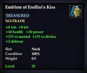 Emblem of Erollisi's Kiss