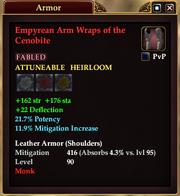 Empyrean Arm Wraps of the Cenobite