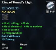 Ring of Tunnel's Light