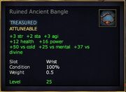 Ruined Ancient Bangle