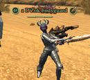 A D'Zok bodyguard