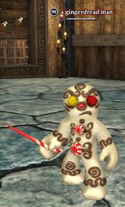 A gingerdread man
