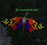 A mountain fay drake