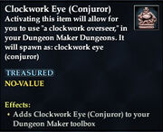 Clockwork Eye (Conjuror)