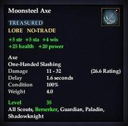 Moonsteel Axe