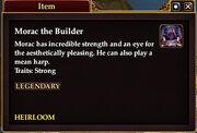 Morac the Builder