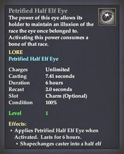 Petrified Half Elf Eye