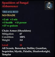 Spaulders of Fungal Abhorrence