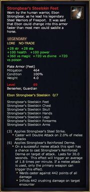 Strongbear's Steelskin Feet