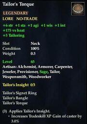 Tailor's Torque